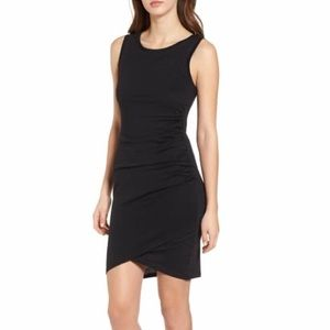 Leith Ruched Body-Con Tank Dress in XS